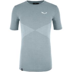 SALEWA Zebru Responsive T-Shirt Heren, flint stone